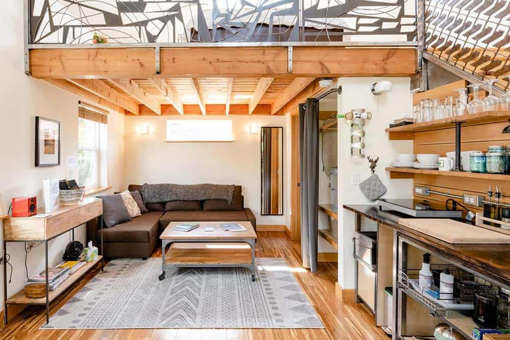 portland or tiny house rental
