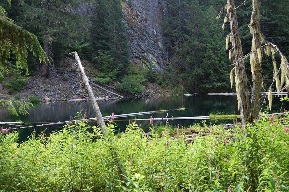 pyramid lake north cascades
