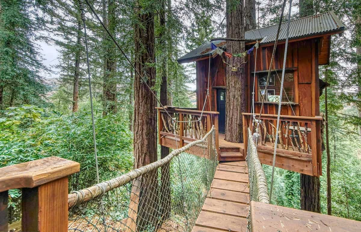 redwoods treehouse rental