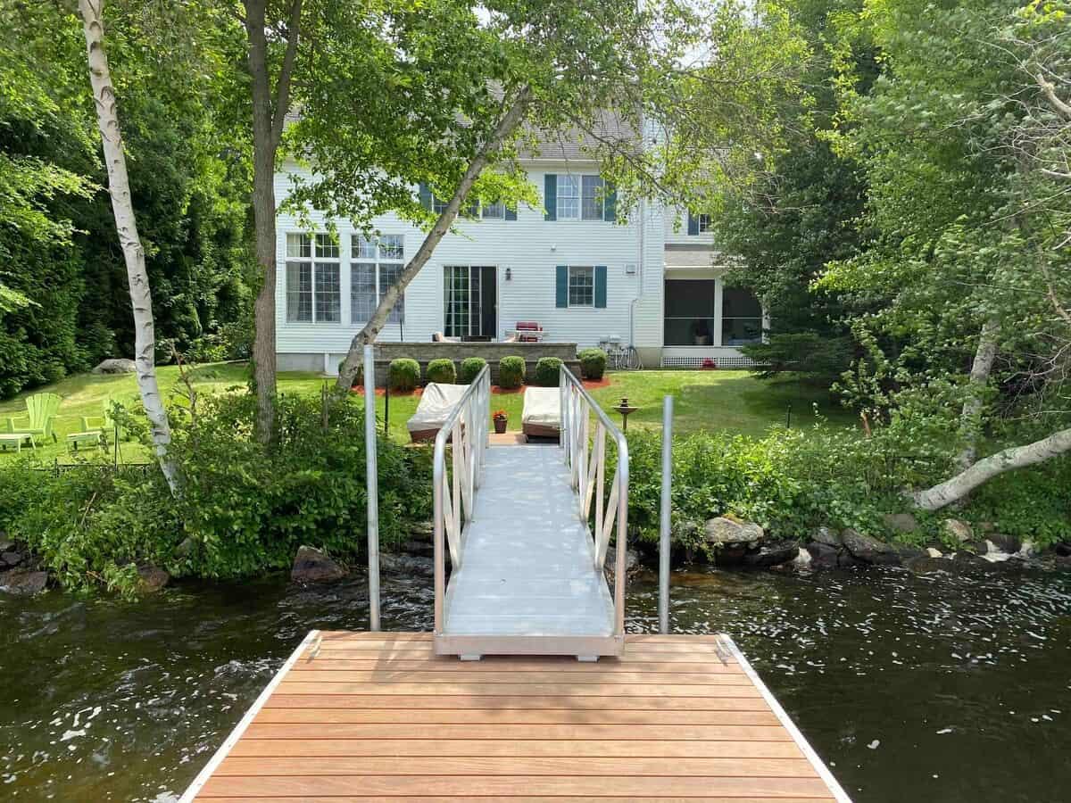 rhode island lake house retreat