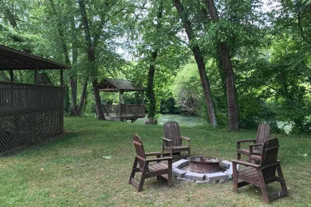 riverfront cabin rental murphy nc
