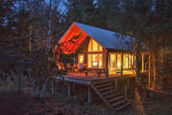 secluded alaska cabin rentals