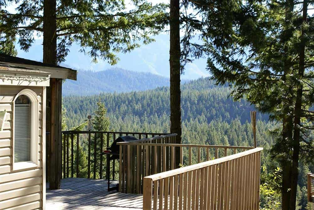 secluded cabin leavenworth wa