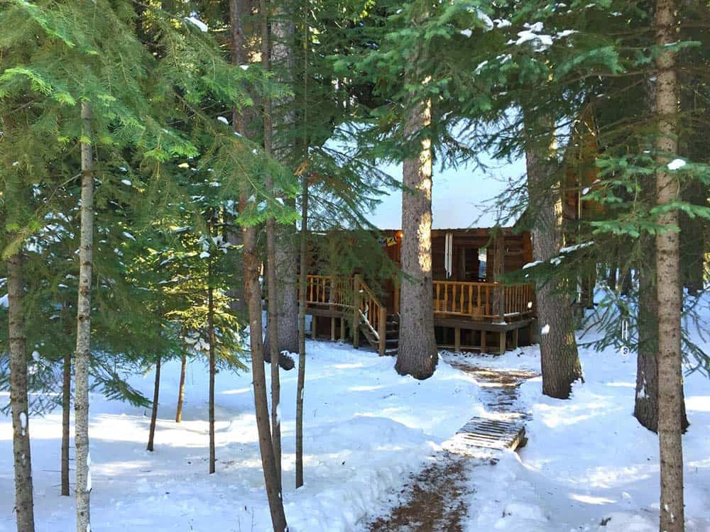 secluded cabin rental bend oregon