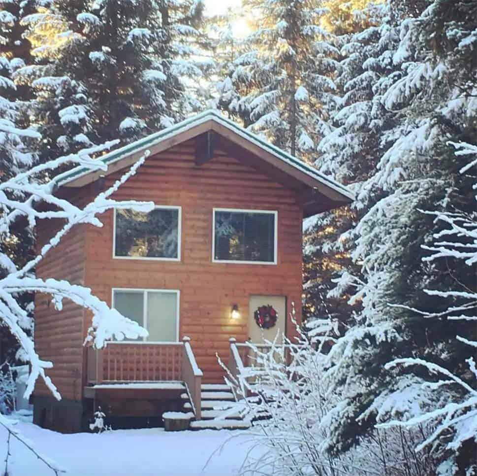 secluded cabin rental seward alaska