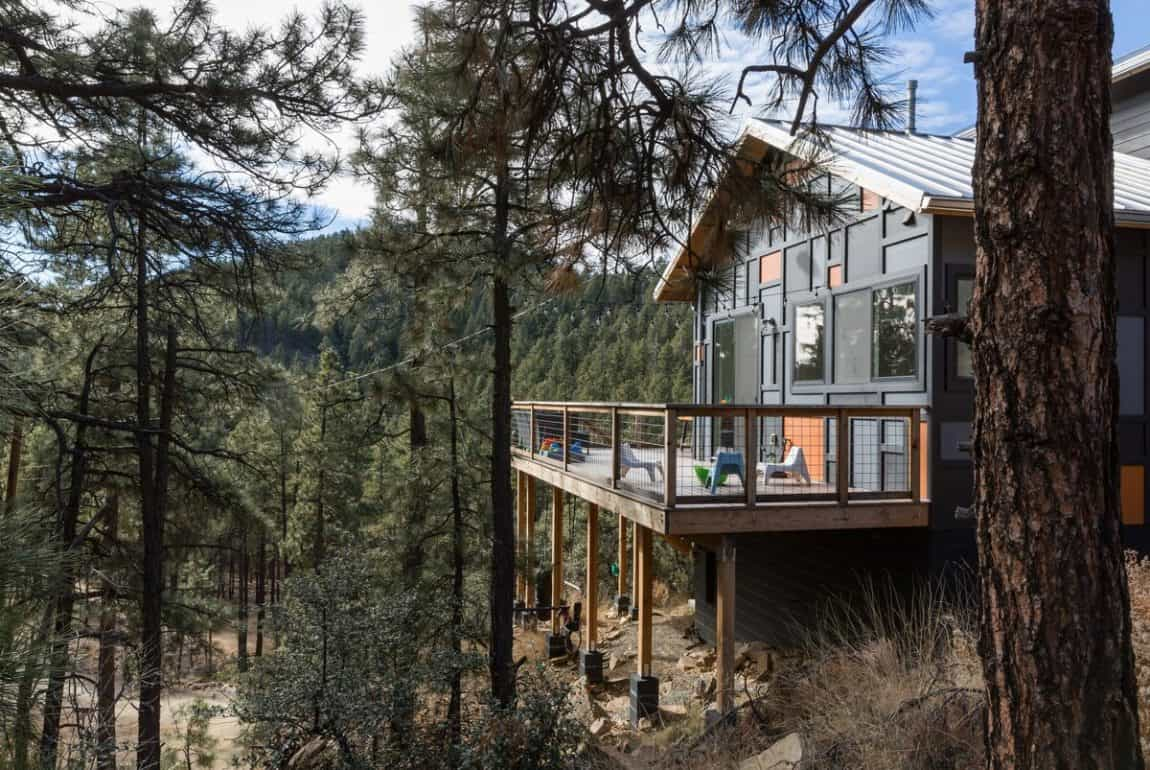 secluded cabin rentals arizona