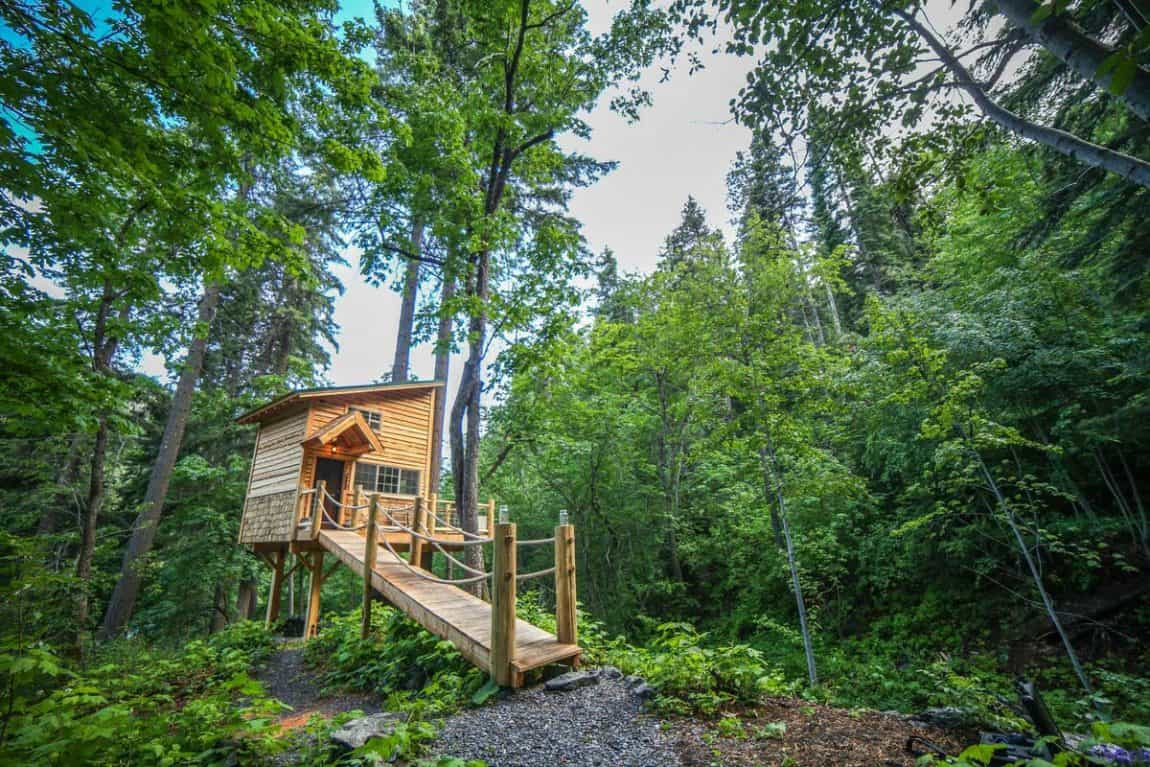 secluded cabin rentals washington