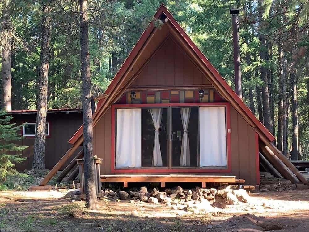 secluded klamath falls cabin rental