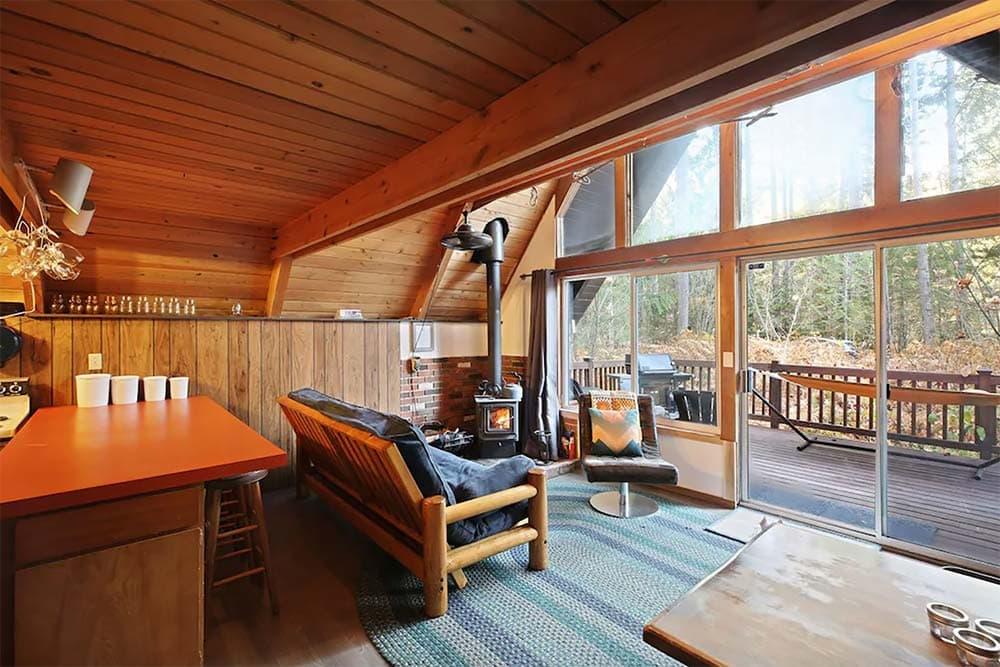 secluded ski cabin washington