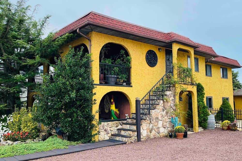 spanish villa unique nj airbnb