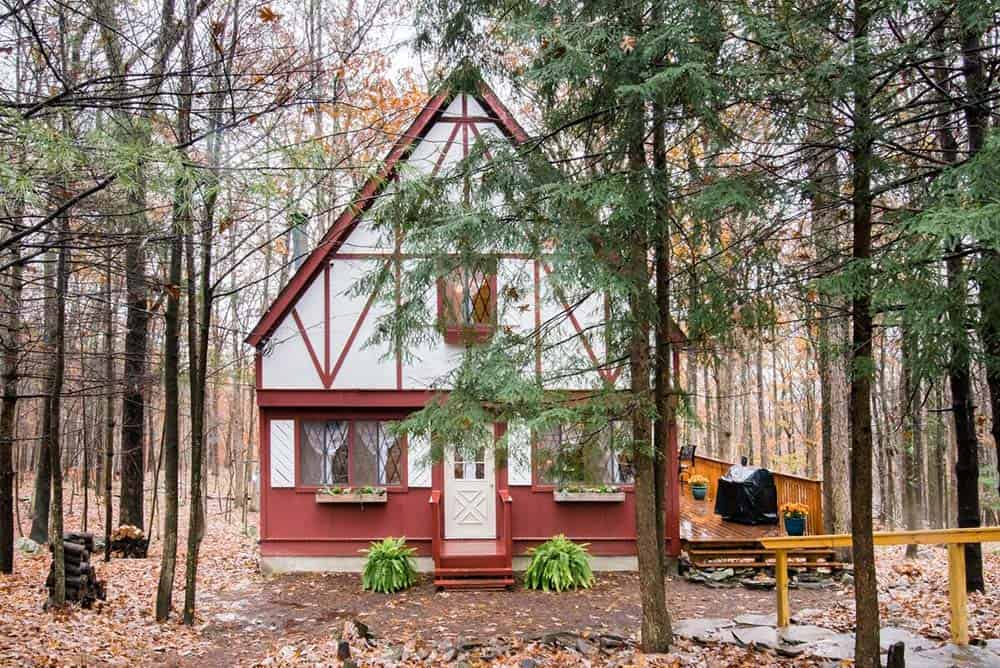 storybook chalet pennsylvania airbnb cabin