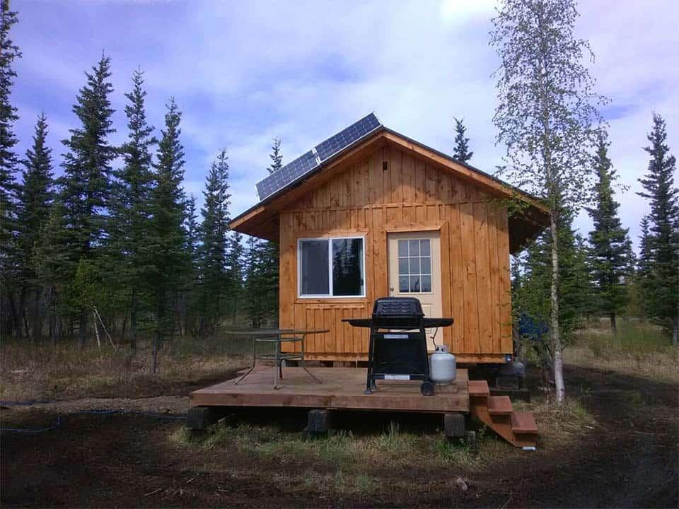 sweet seclusions cabin alaska