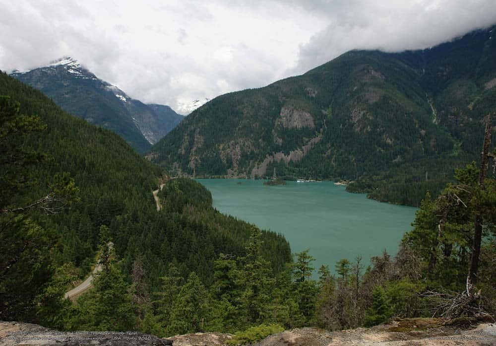 thunder knob trail north cascades