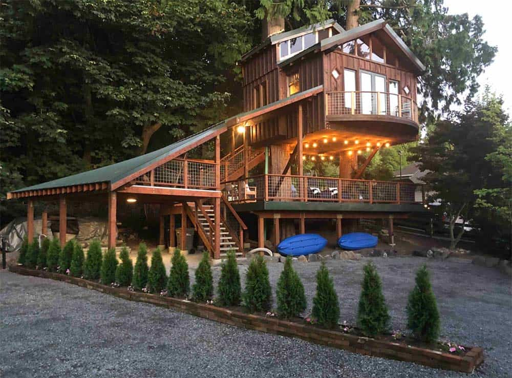 treehouse rental lake stevens washington