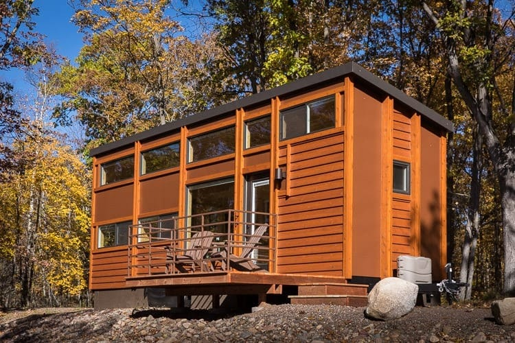 wisconsin tiny house airbnb