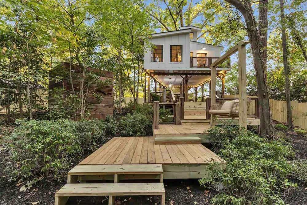 ATL treehouse airbnb georgia