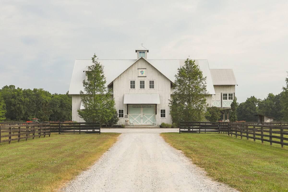 Modern Barn airbnb rental