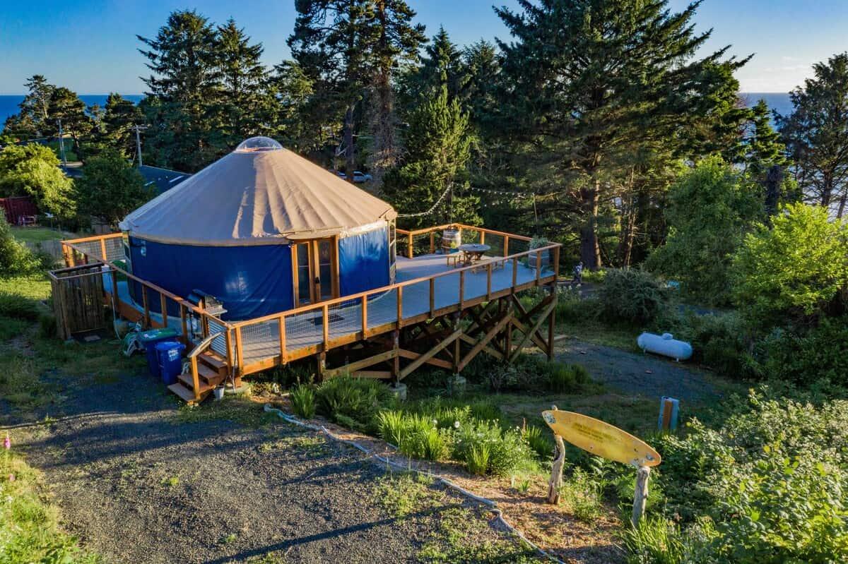 Otter Rock Surf Yurt