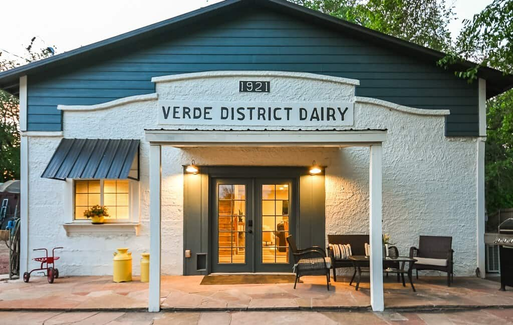 The Verde Dairy Cottage airbnb