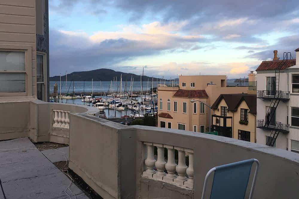 airbnb san francisco balcony