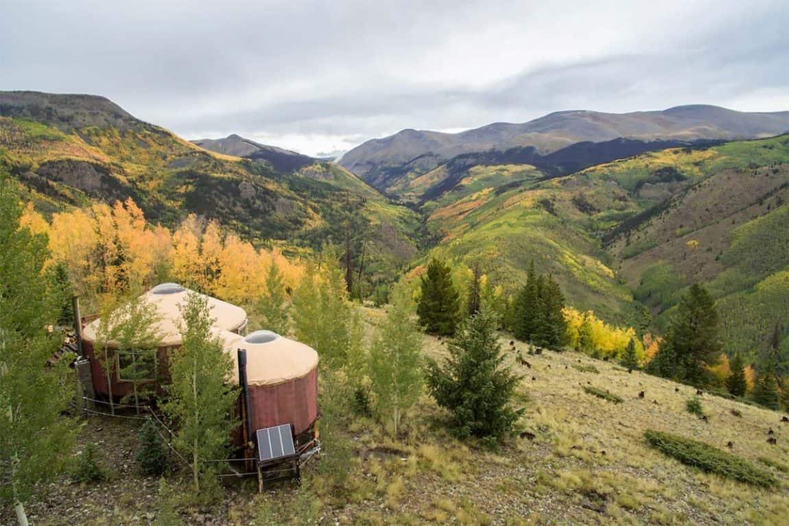 best yurt rentals colorado