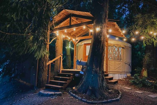best yurt rentals washington