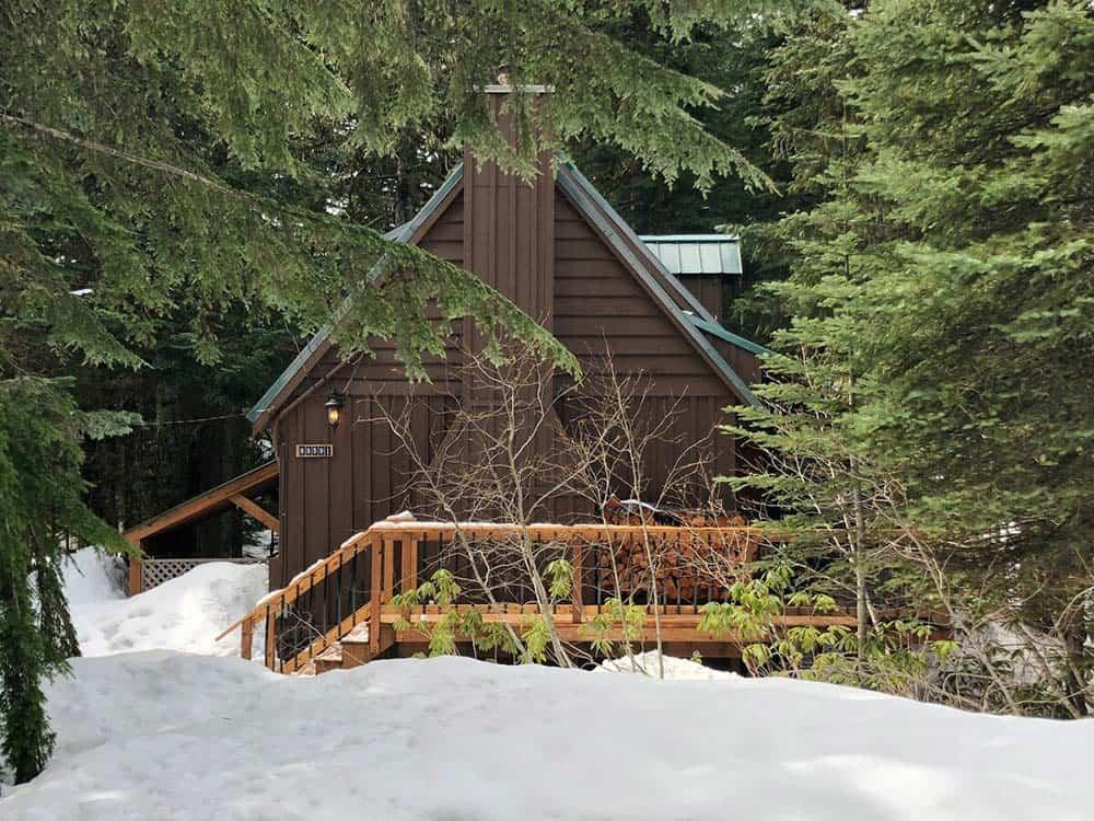 cabin rental govt camp oregon