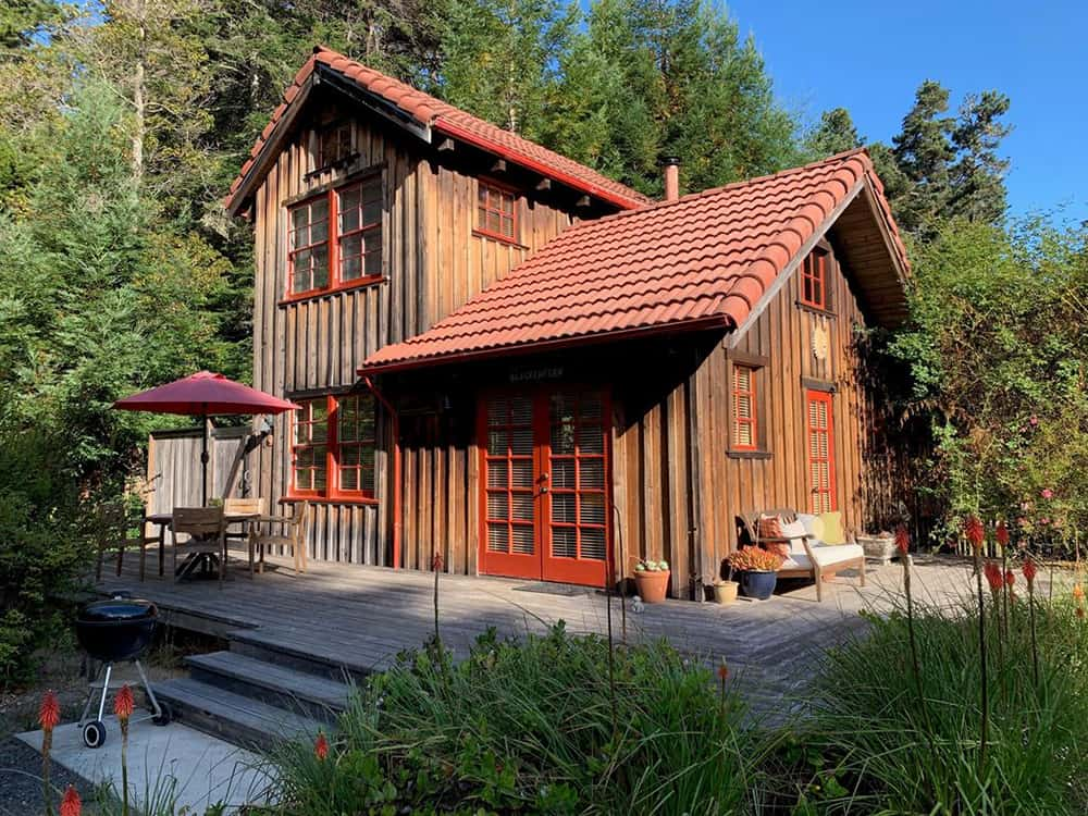 california secluded cabin for rent
