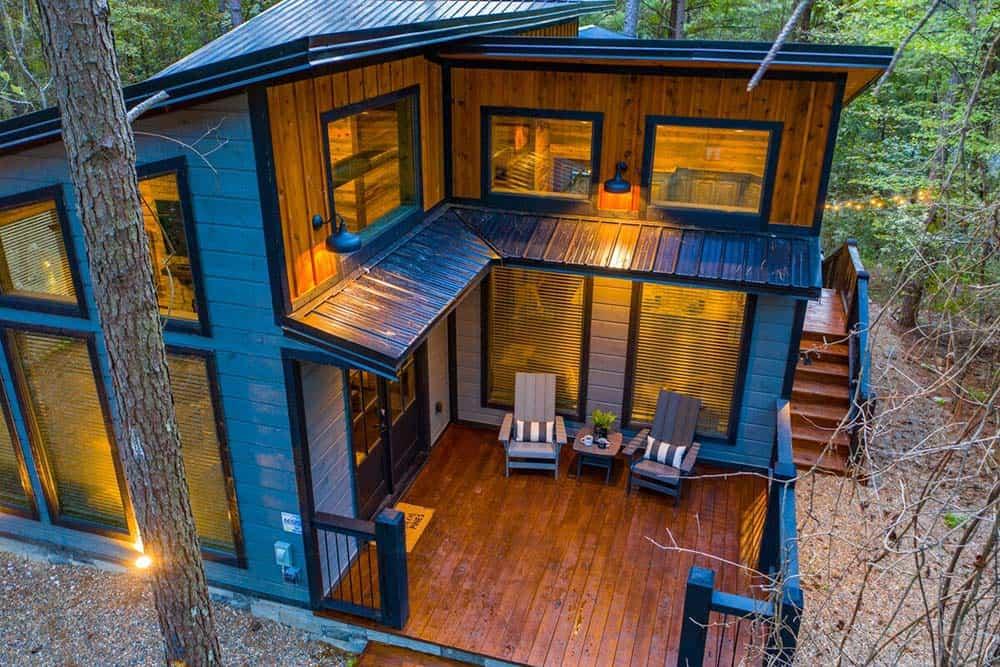 circle pines cabin rental