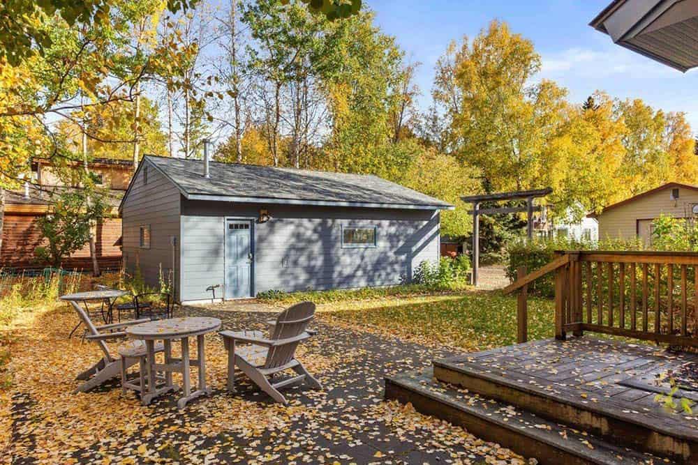 garden airbnb anchorage