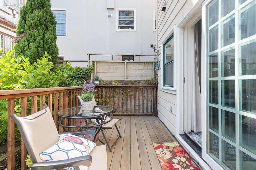 garden studio airbnb san fran