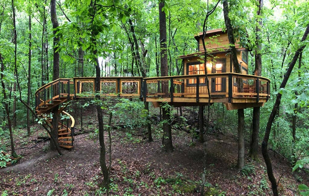 georgia treehouse airbnb