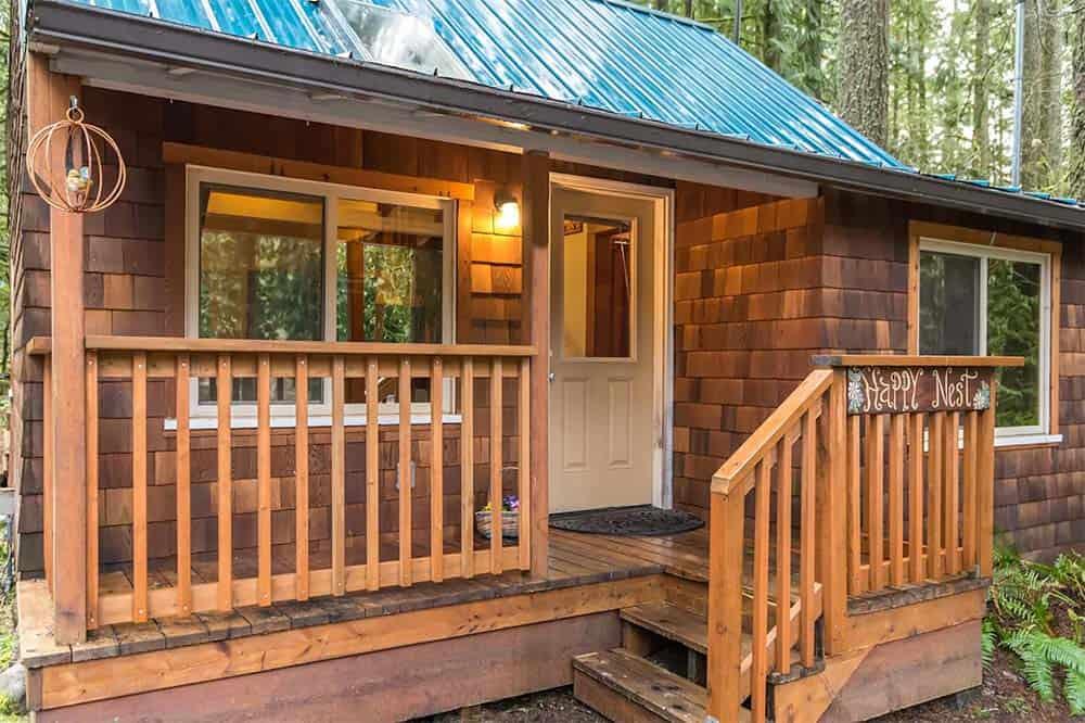 happy nest cabin mt hood