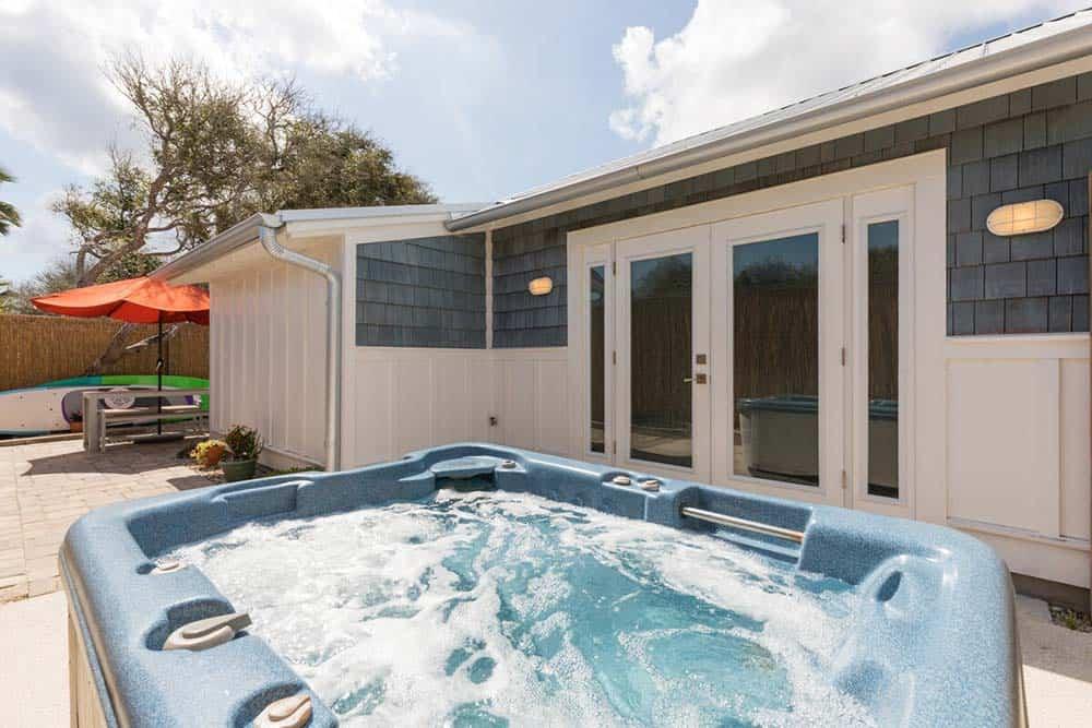 hot tub airbnb st augustine