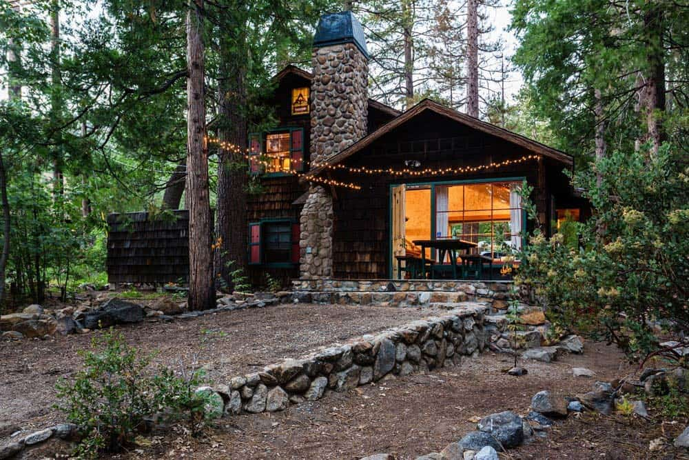 idyllwild secluded cabin rental