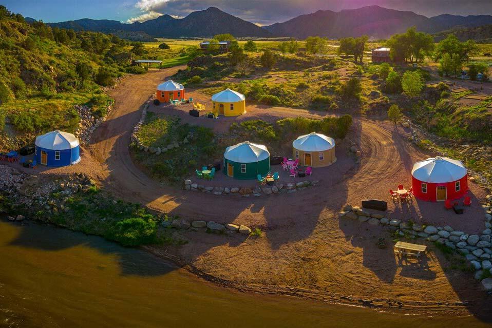luxury yurt rental colorado