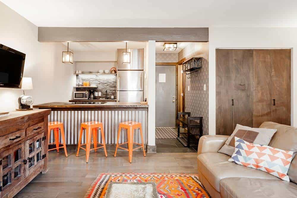 modern studio airbnb breck