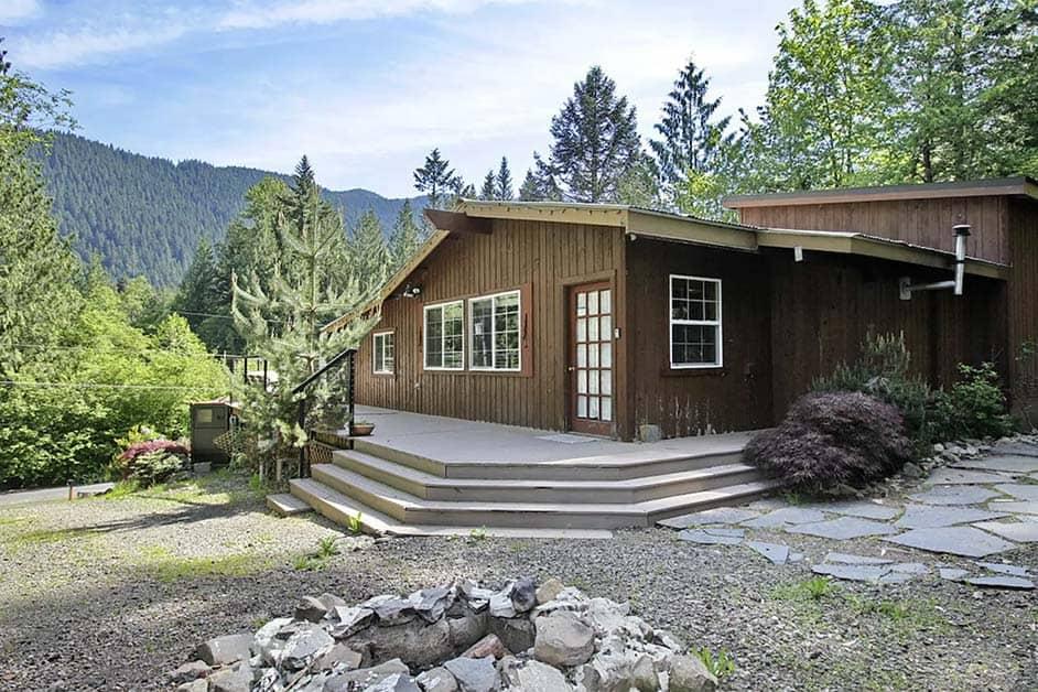 mt hood family cabin rental