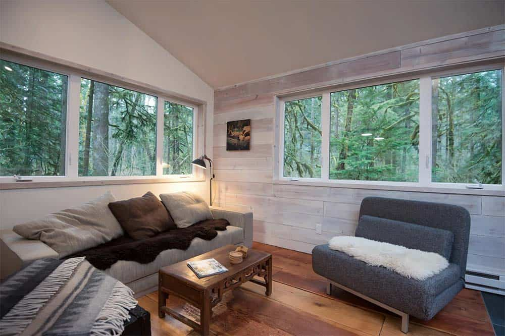 mt hood forest cabin