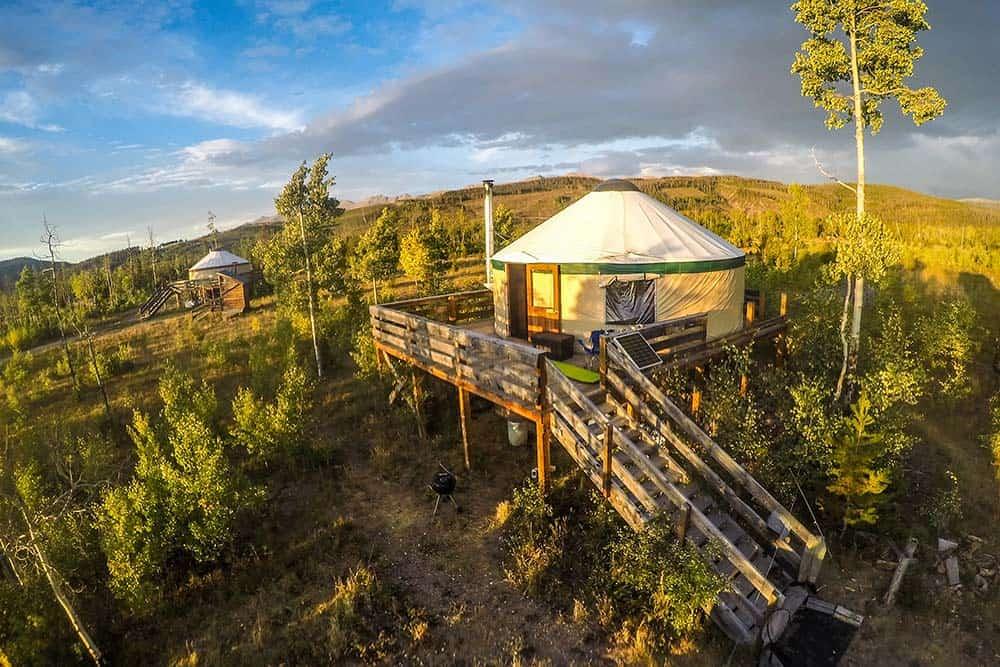 never summer yurt rentals