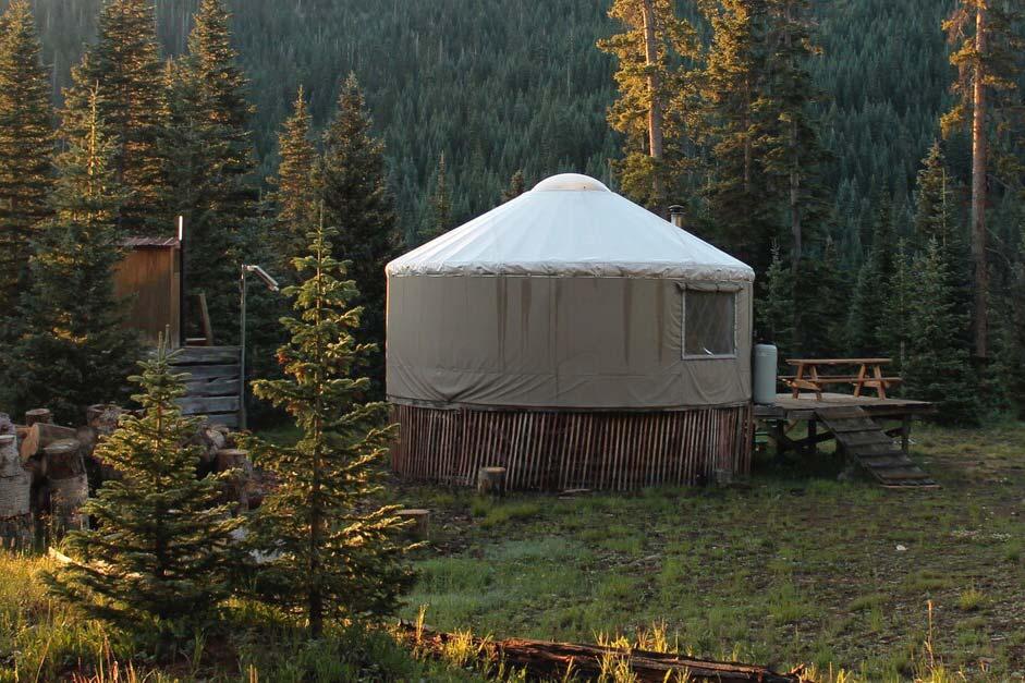 pagosa springs yurt rental