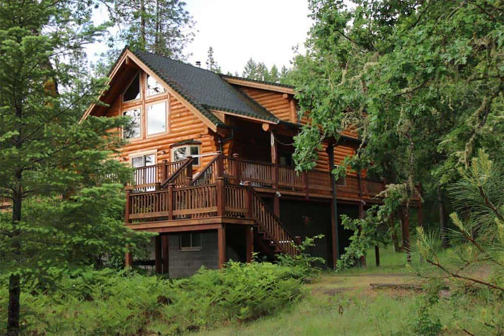 rogue river cabin rental