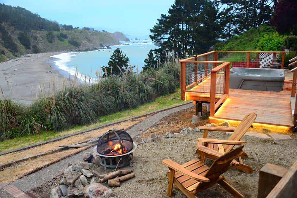 secluded cabin rental california coast