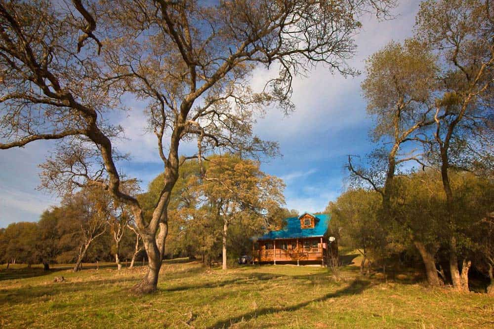 secluded cabin rental mariposa ca