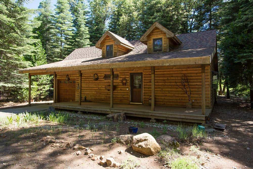 secluded cabin rental tahoe