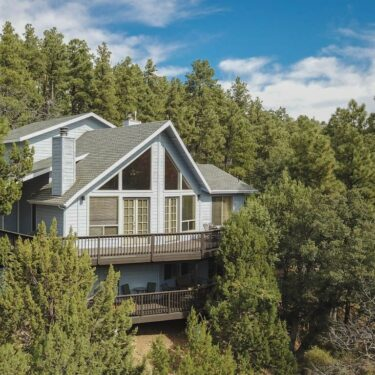secluded cabin rentals in arizona