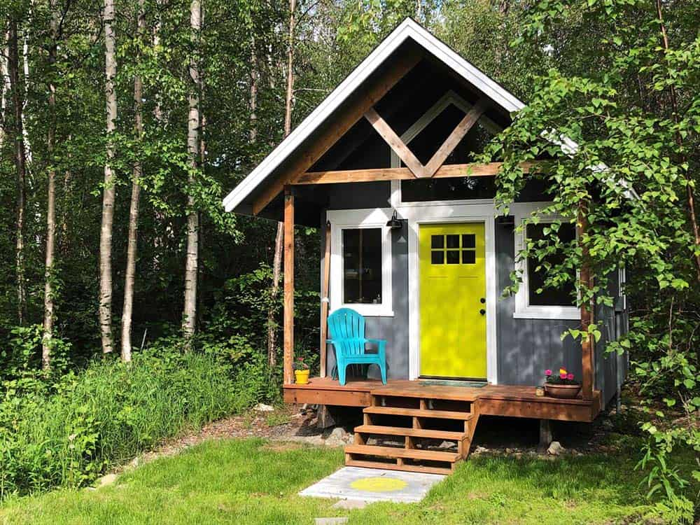 tiny house airbnb anchorage
