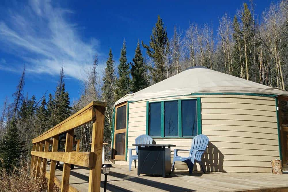 yurt airbnb colorado