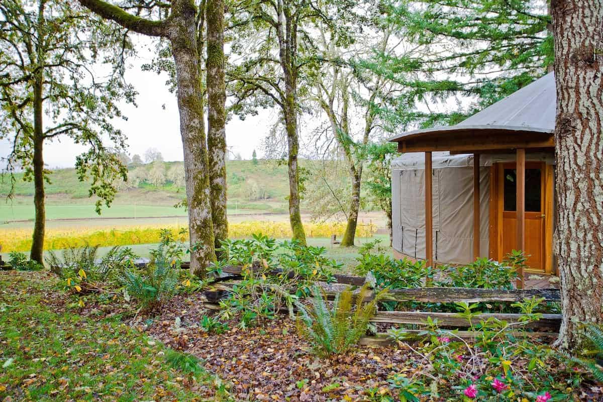 yurt glamping oregon