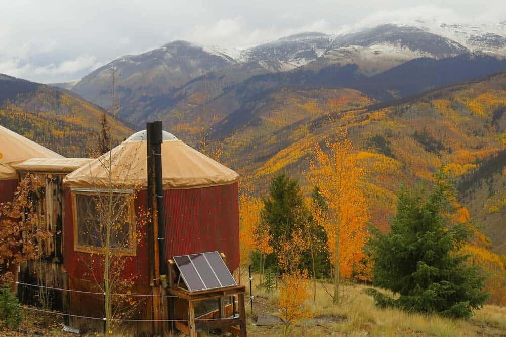 yurt rental creede co